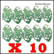 10 X TECHNICS 1200 1210 STOCK RCA PCB PRINTED CIRCUIT PC BOARD MK2 - MK6
