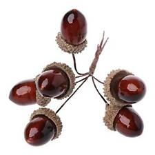 6pc Artificial Pine Cone Bouquet Wedding Christmas DIY Pine Nut Wreath Decors b