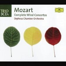 Orpheus Chamber Orchestra-W.A. Mozart-Complete Wind Concertos 3 CD NUOVO
