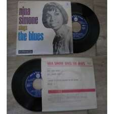 NINA SIMONE - Sings The Blues Rare French EP Soul Blues 1967