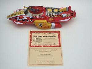Flash Gordon Sparkling Rocket Fighter Ship Schylling Collectors Series 2004
