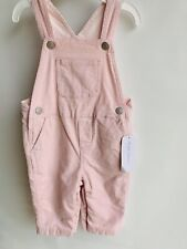 POLO RALPH LAUREN Baby Girls Pink Corduroy Overalls Size 6 Months New