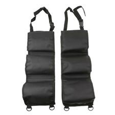 Seat 2Pcs voiture Retour Rifle Gun rack Pick Up Organizer Sling Bag Black
