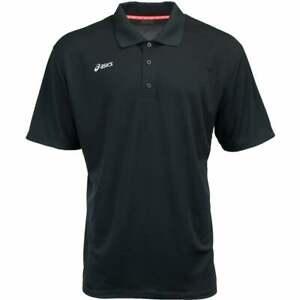 ASICS Team Performance  Mens Golf Top Athletic  Polo Short Sleeve