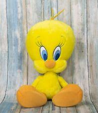"VTG Looney Tunes Tweety Bird RARE 💎 Aurora 12"" Yellow Plush Toy Stuffed Animal"