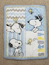 Lambs & Ivy My Little Snoopy Nursery Baby Comforter Quilt and Crib Sheet