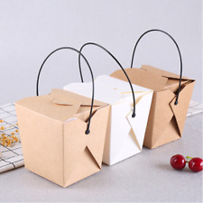 Disposable Food Snack Chicken Popcorn Packaging Boxes Fried Rice Takeaway Boxes