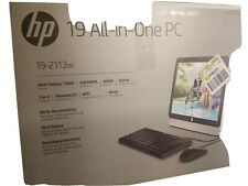 "HP Compaq Intel Celeron 19"" J1800 4GB RAM, 500 GB hard drive, keyboard/mouse"