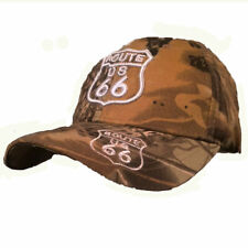 CASQUETTE USA- WESTERN - COUNTRY -route 66 color kaki homme/femme