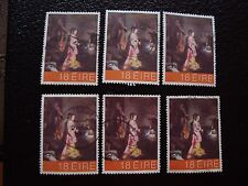 IRLANDE - timbre yvert et tellier n° 458 x6 obl (A32) stamp ireland (E)