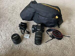 Canon EOS Rebel T2i / EOS 550D 18.0MP Digital SLR Camera - W/ 18-55 MM& 55-250MM