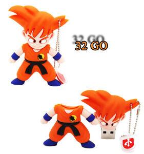Clé usb 32GB San Goku Dragon Ball Z NEUVE