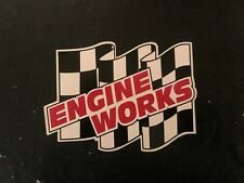 Engine Works decal sticker nascar hot rod muscle car motor race car nhra tuner
