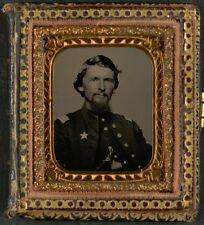 Photo Civil War Union Officer's Uniform w 12th Corps Army of the Potomac Badge