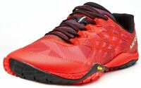 Merrell Men's Trail Glove 4 Sizes  6 - 14 UK Fitness Shoes Red Molten Lava