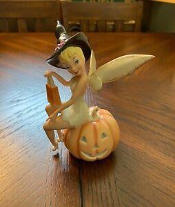 Lenox Disney Figurine 'Tinks Halloween Treats' NWT Tinker Bell