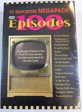 100 Episode TV Favorites Megapack - 9-Disc Set (DVD, 2004, 9-Disc Set)