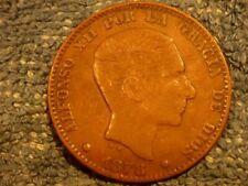 Bronze Münzen aus Spanien