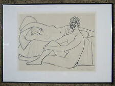 Picasso dessin sur vélin d'arches Collection musée Picasso. Repro  Louvre 1981.