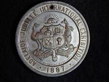 1887 ADELAIDE JUBILEE EXHIBITION MEDALLION - RARE AND IN GREAT CONDITION