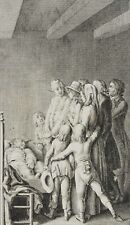 Penzel; portraits, 'there is hope there. ', 18. Century Copperplate
