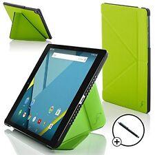 Forefront Custodie Verde Origami Smart Cover HTC Google Nexus 9 8.9 Stilo