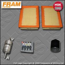 KIT di servizio VW POLO (6N) 1.0 8V FRAM Olio Aria Carburante FILTRI NGK SPINE (1999-2001)