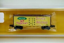 """New & Rare ~ Father Nature Z scale #5001 """"Heinz Ketchup"""" Billboard Reefer Car"""