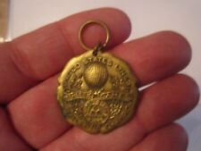 VTG UNITED STATES LINES ATHLETIC GAMES CHAMPION MEDAL - WALTER & SONS -BBA-10