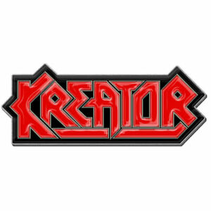Kreator - Fascia Logo - Risvolto/Cappello Pin - Nuovo - Musica PB020