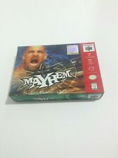WCW Mayhem Nintendo 64 Cardboard Box Only 1999