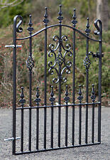 wrought iron single gate to fit 3ft (914mm) opening - 3ft frame height (SIN6)