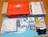 SEGA Dreamcast FRIST VERSION Console System Boxed dc japan
