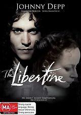 The Libertine (Johnny Depp) - DVD New/Sealed Region 4
