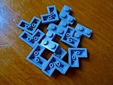 LEGO 2 x 2  LIGHT GREY CORNER PLATES x 12 PART 2420