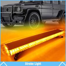 "38"" 72 LED Amber Strobe Light Bar Emergency Beacon Warn Tow Truck Response US"