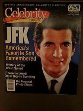 JFK Jr. America's Favorite Son Celebrity Focus Political Ephemera Magazine...