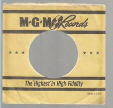 Company Sleeve 45 MGM Yellow w/ Black Stripes & Strars on