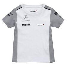 Camiseta de bebé fórmula uno 1 equipo McLaren F1 Nuevo Niños 2014 pequeño de 1-2 años