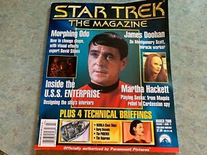 ** Star Trek: The Magazine - March 2000 Good Condition Preowned