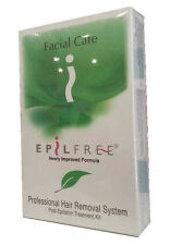 EpilFree Facial Care Professional Hair Removal System Kit Epil Free