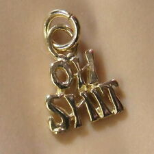 9ct gold new rude charm