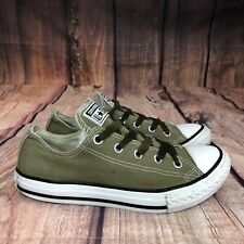 CONVERSE AS Street Mid Knit Sage Olive Green White Sneakers Kids Youths Shoes