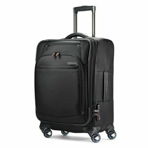 """$600 Samsonite Pro 4 DLX Expandable Luggage Spinner Carry On Suitcase 21"""""""