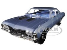 "1967 Chevrolet Impala Sedan Blue ""The A-Team"" Tv Series 1/18 By Greenlight 19047"