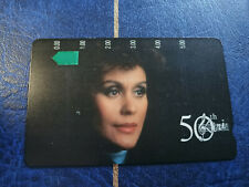 Mint $5 Dame Kiri Te Kanawa 50th Birthday Phonecard Prefix 375