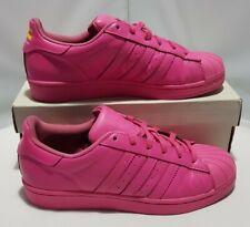 Adidas Superstar Pink Size 5 Uk Pharrell  Williams S31606 Junior Supercolor