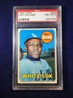 1969 Topps Walt Williams #309 PSA 8 Chicago White Sox