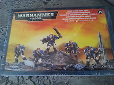 Warhammer 40K Space Marine Scout Squad-New & Sealed