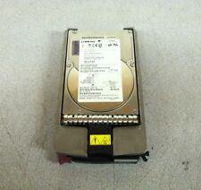 """Compaq 3.5"""" 36.4 GB 80 Pin SCSI Hard Drive 9T9001-030 BD03664553 w/ HP Caddy"""
